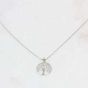 Lebensbaum silber // Venezianerkette