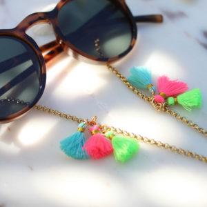 Brillenkette Golden Boho