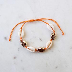 Armband Kauri Muschel