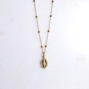 Madonna Kugelkette gold