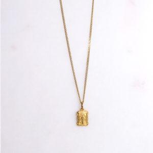 Madonna Panzerkette Gold