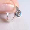 Labradorit Ring 925 Sillber