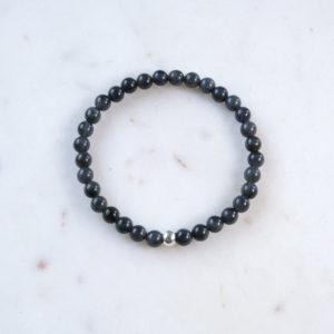 Armband Labradorit 925 Silber