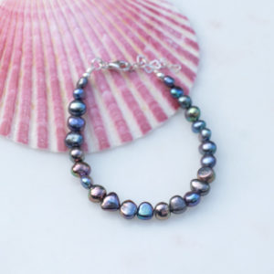 Perlenarmband Moonparty 925 Silber