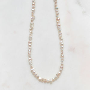 Perlenkette It Piece 925 Silber
