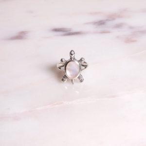Ring Schildkröte 925 Silber