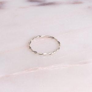 Ring Swirl 925 Silber